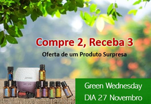 Green Wednesday - Compre 2, Receba 3
