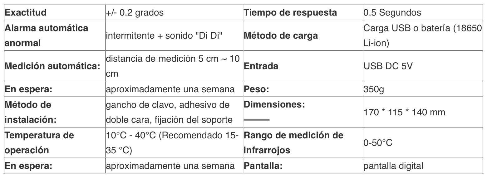Termometro K3 Termometro de aceite para freidoras. termometro m3