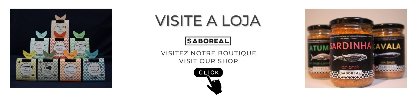 LOJA SHOP SABOREAL - Visit our shop to know our preserves and order.