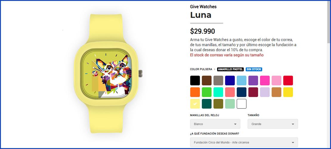 relojes para personalizar