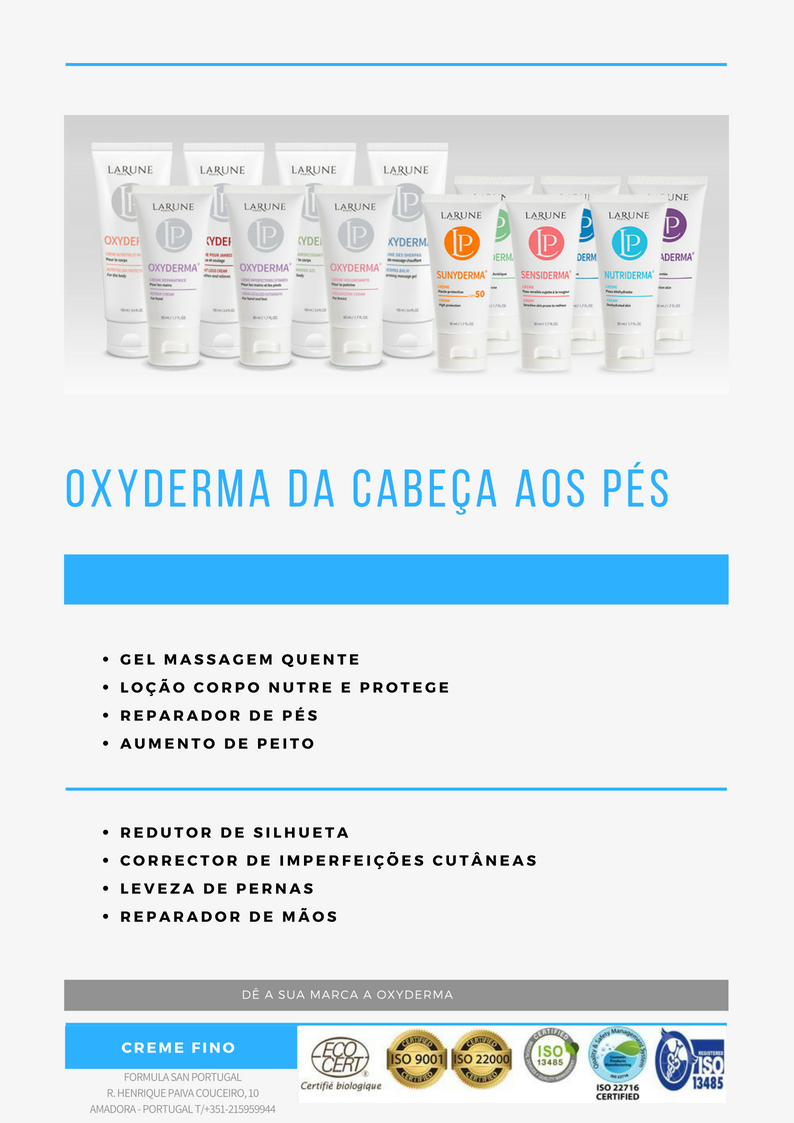 Catalogo Oxyderma