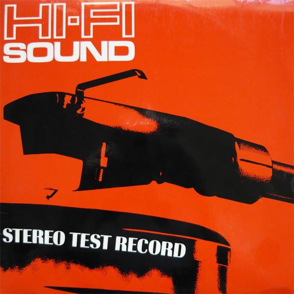 No Artist - Hi-Fi Sound Stereo Test Record (1969)