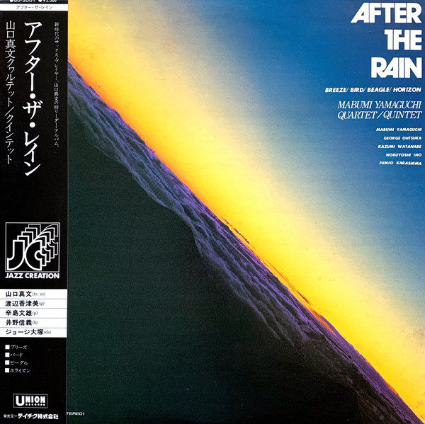 Mabumi Yamaguchi Quartet - After The Rain (1976)