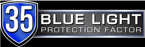 35% Protección luz azul