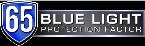 65% Protección luz azul