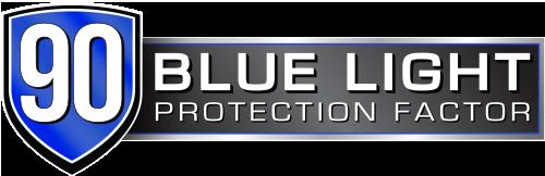 90% Protección Luz Azul