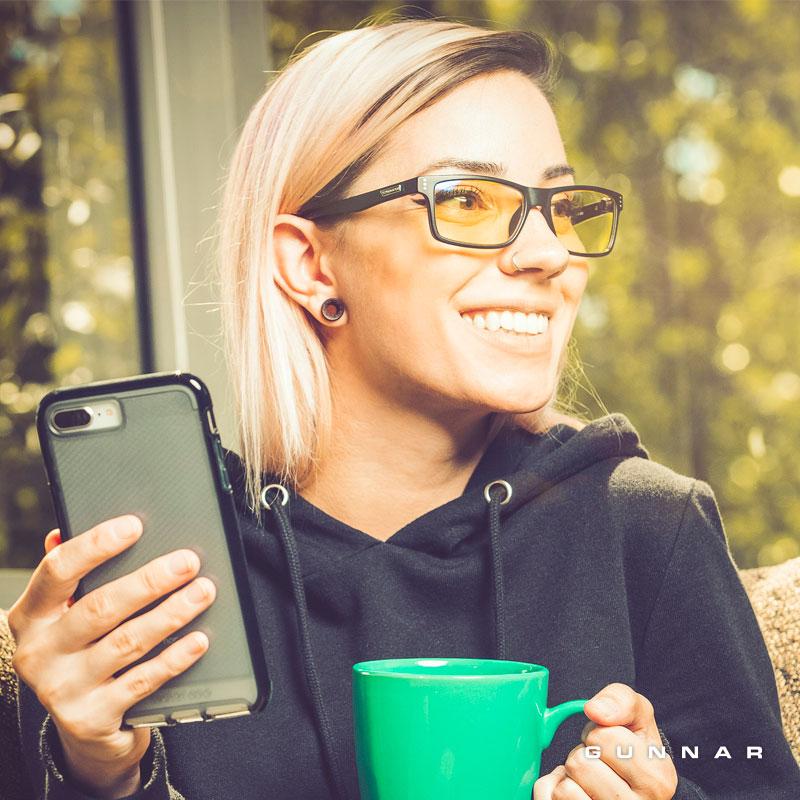 lentes con filtro de luz azul para mujer