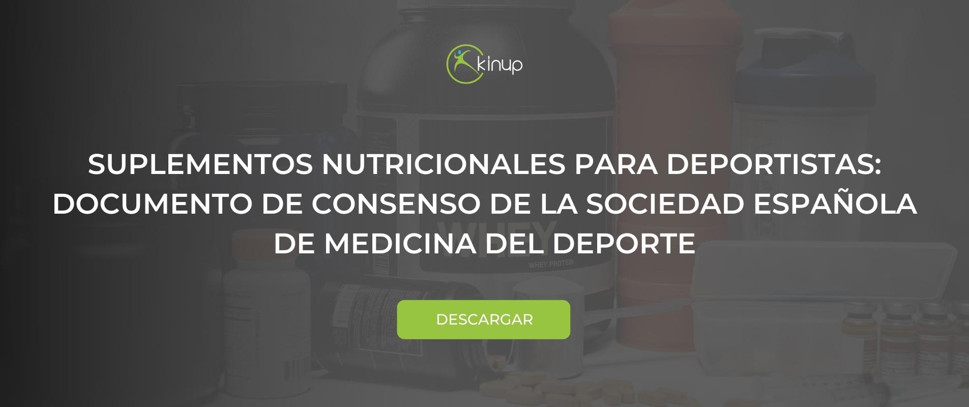 Suplementos nutricionales para deportistas