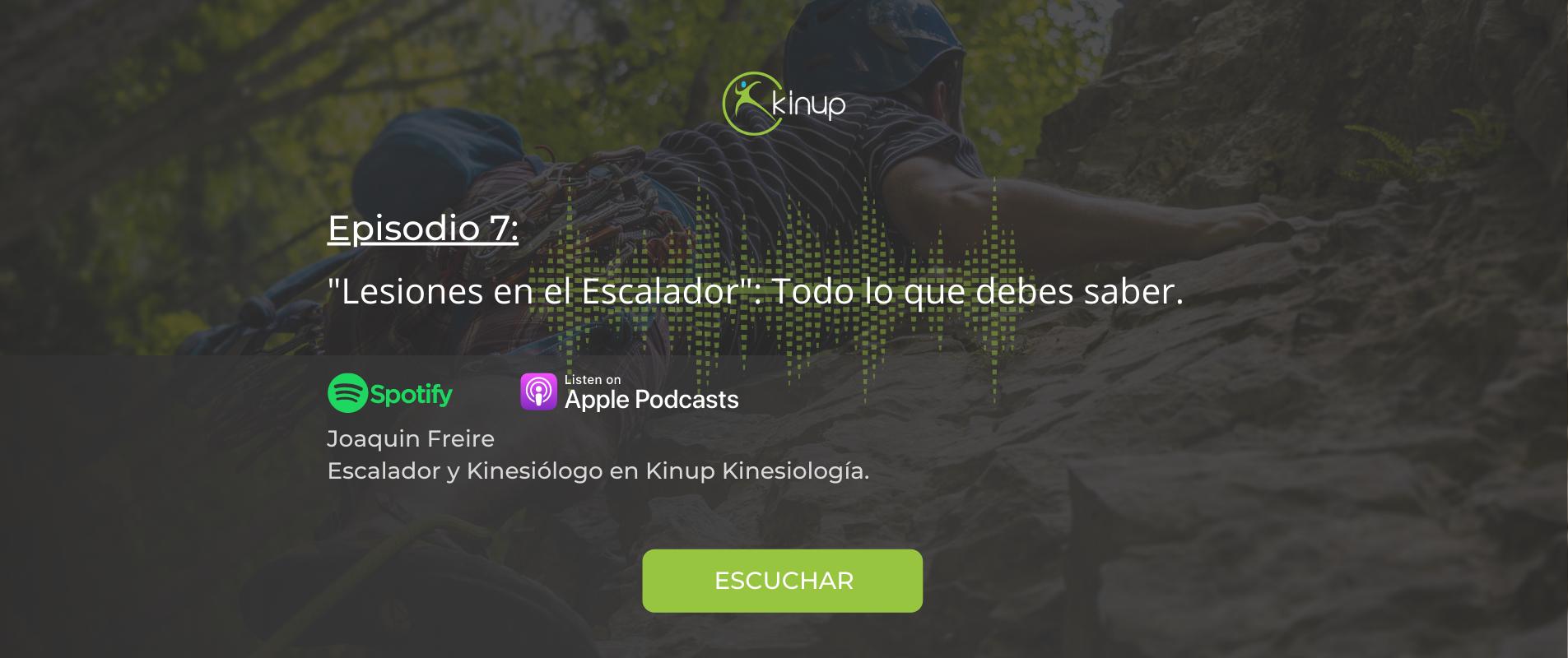 Podcast - Lesiones en el escalador