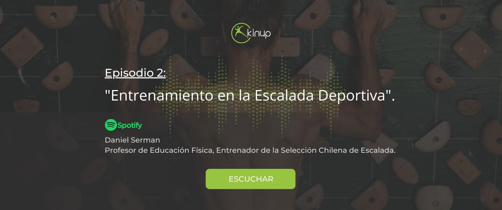 Podcast - Entrenamiento en la Escalada Deportiva