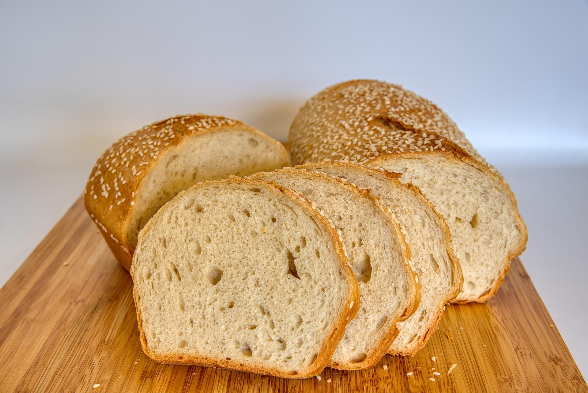 Pan con ajonjolí