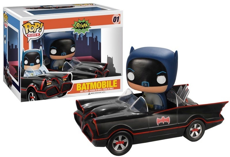Funko Pop Rides Batmobile 01