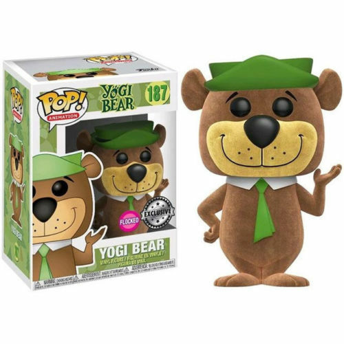 Funko Pop Yogi Flocked