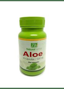 Aloe - 60 Cápsulas 300 mg.