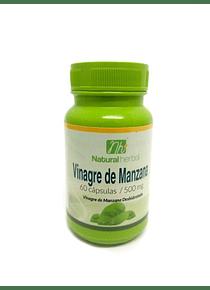 Vinagre Manzana - 60 Cápsulas 500 mg.