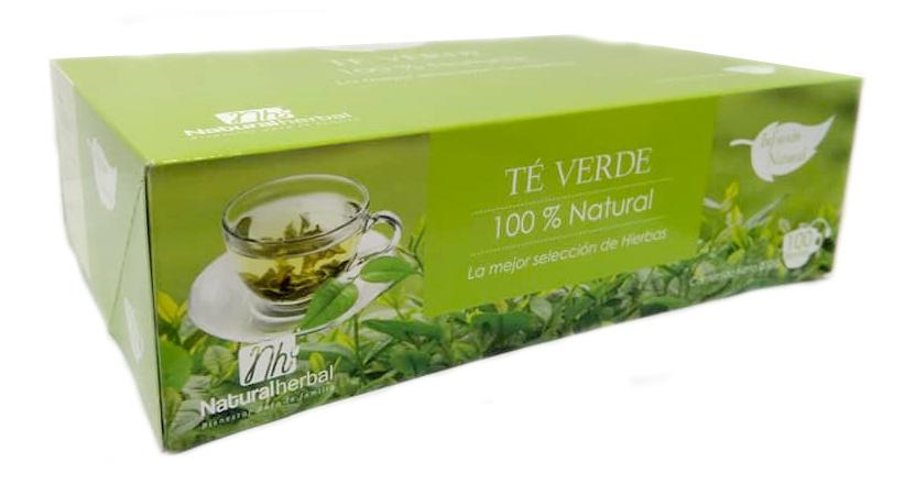 Té Verde NH - 100 bls - 200 gr.