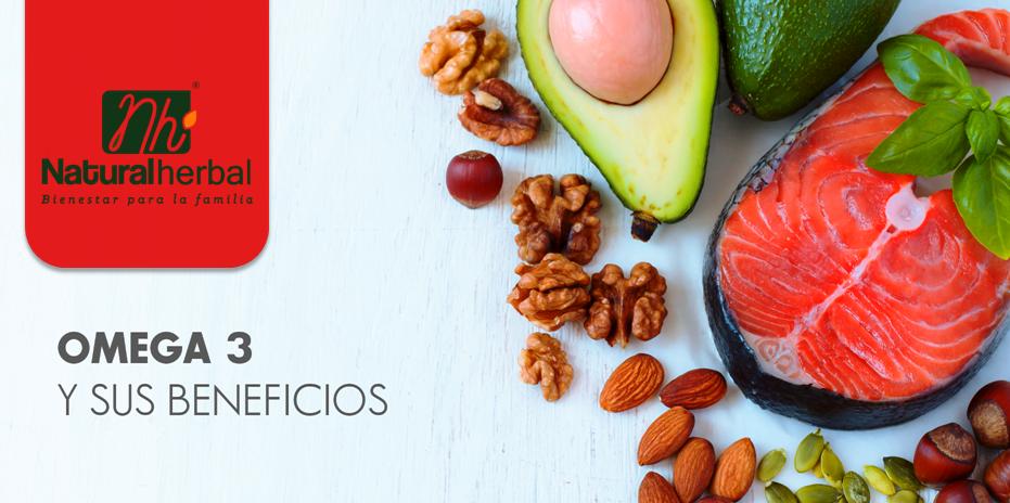 Beneficios de consumir Omega 3