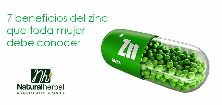 7 beneficios del zinc que toda mujer debe conocer