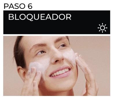 como aplicar correctamente el bloqueador solar en el rostro?