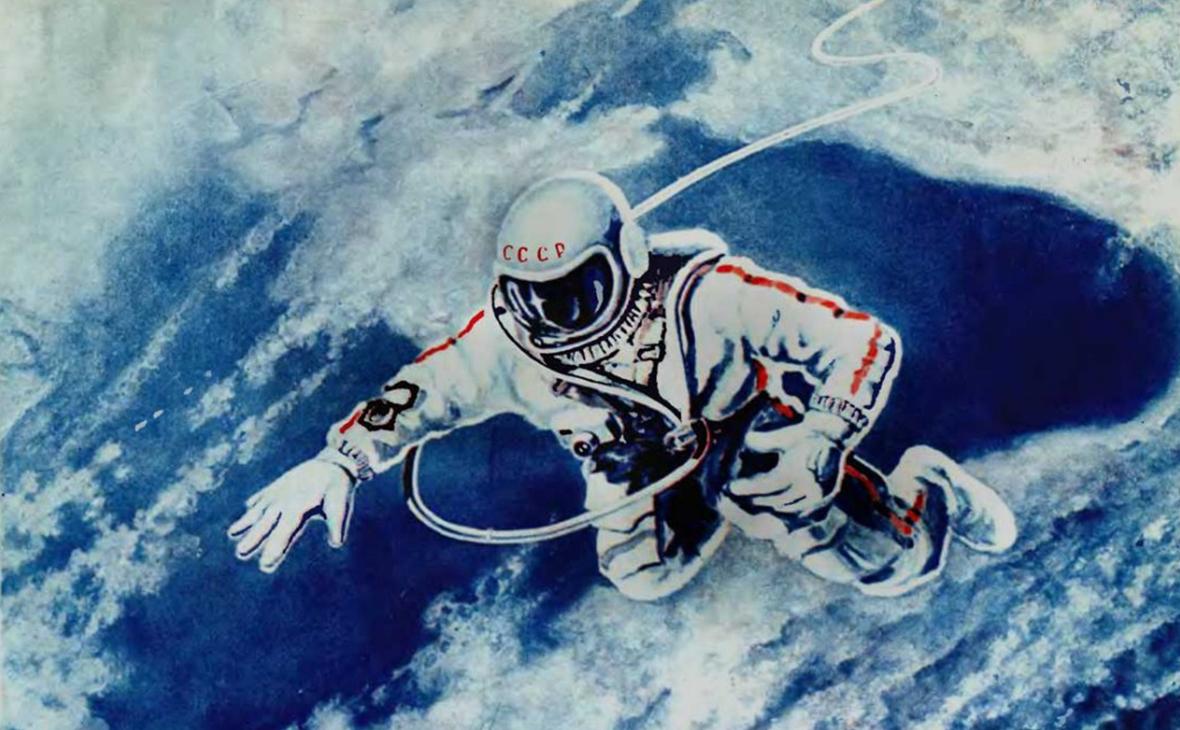 """""""Pintura sobre Gagarin"""""""