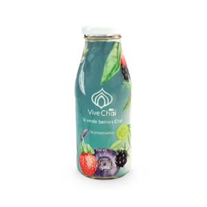 Masala chai té verde berries